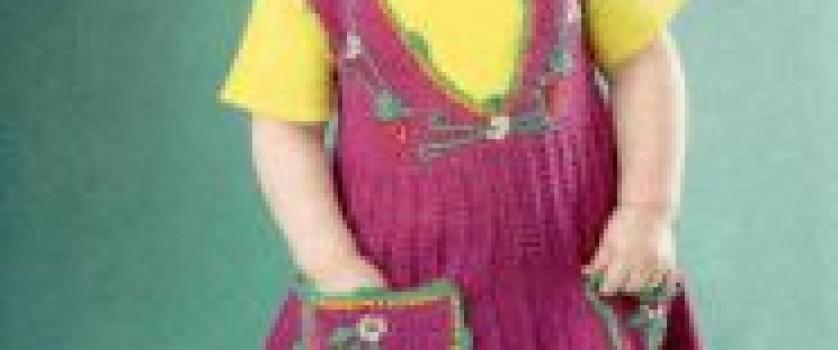 Бордовый сарафан с вышивкой