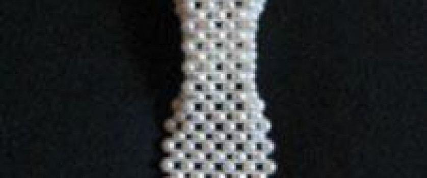 Галстук (австрийский) из искусственного жемчуга