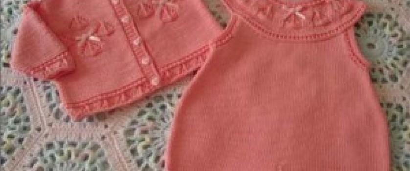 Розовый комплект