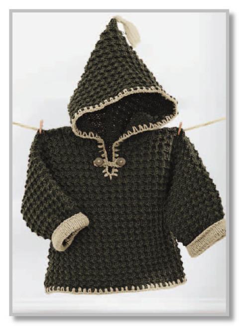 Рельефный цельновязанный пуловер с капюшоном</div><!-- .featured-header-image -->  <div class=
