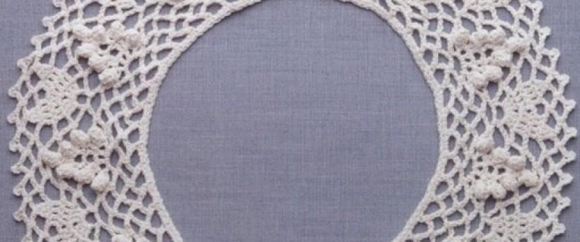 Вязание воротничка крючком