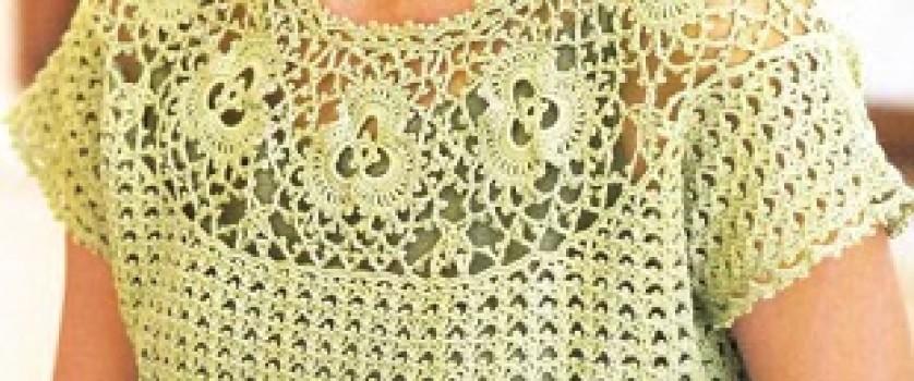 Вязание кофты крючком