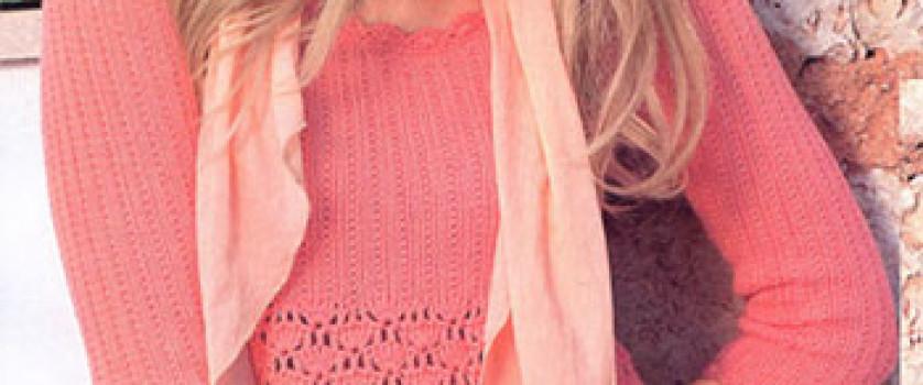 Пуловер в стиле ампир