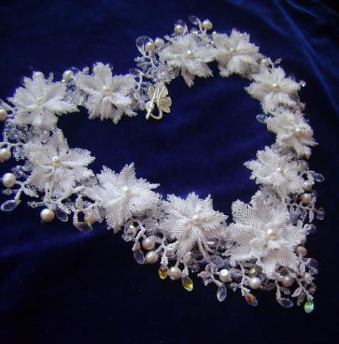 Мастер-класс по созданию колье &#171;Свадебные цветы&#187;</div><!-- .featured-header-image -->  <div class=