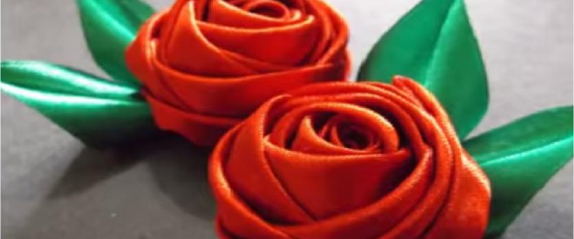 Атласная роза
