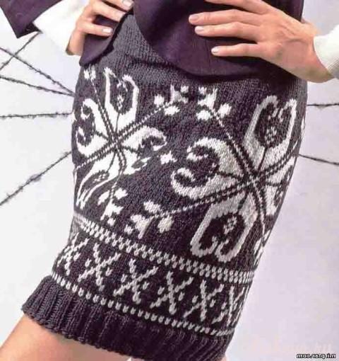 Женская юбка с норвежским узором</div><!-- .featured-header-image -->  <div class=