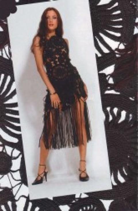 Чёрное платье из вискозного шелка</div><!-- .featured-header-image -->  <div class=