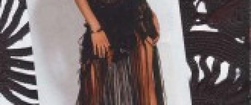 Чёрное платье из вискозного шелка