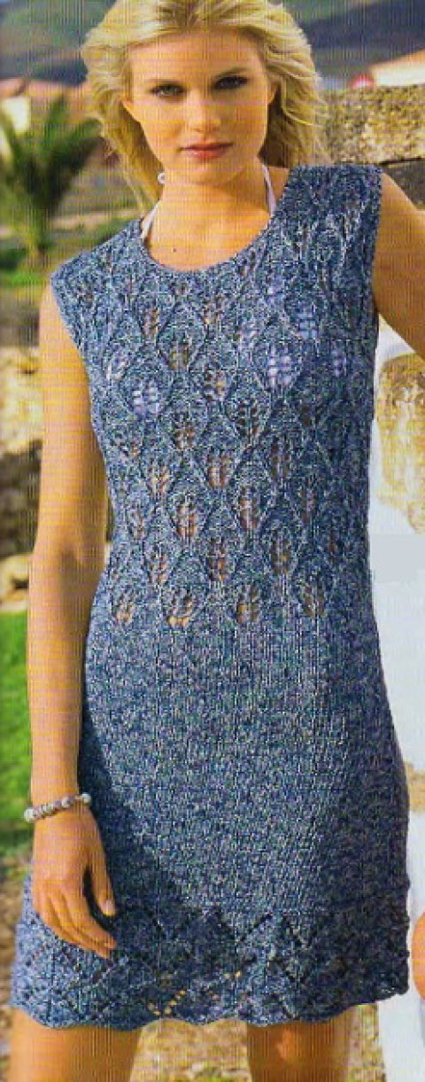 Вязание спицами &#8212; платье</div><!-- .featured-header-image -->  <div class=