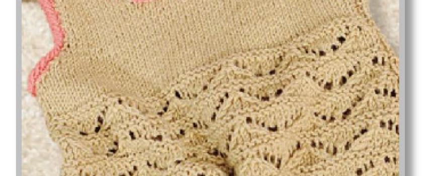 Платье-сарафан, штанишки-трусики и шапочка