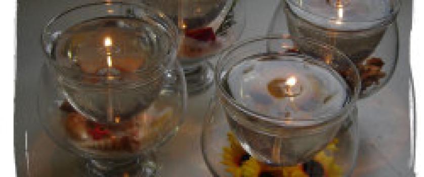 Как делать гелевые свечи с легковоспламеняющимися деталями