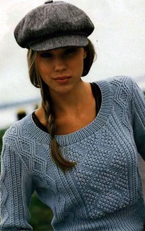 Пуловер с ромбами</div><!-- .featured-header-image -->  <div class=