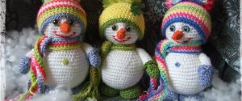 Снеговичок, авторское описание от «Virinera»