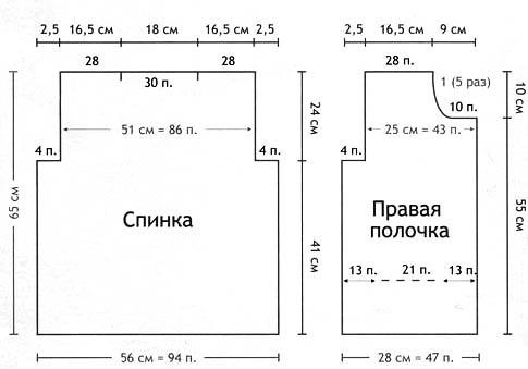 крючком женские кофточки с описанием показ