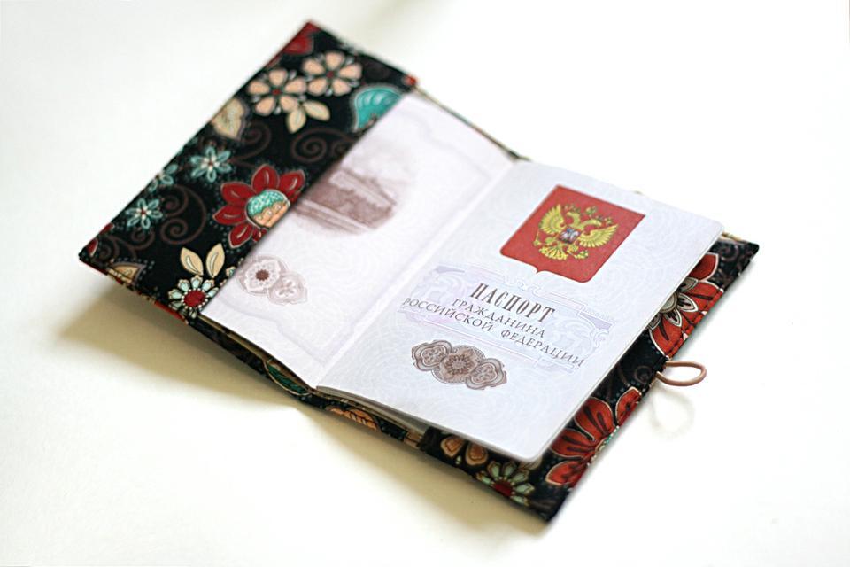 Обложка на паспорт своими руками как сделать