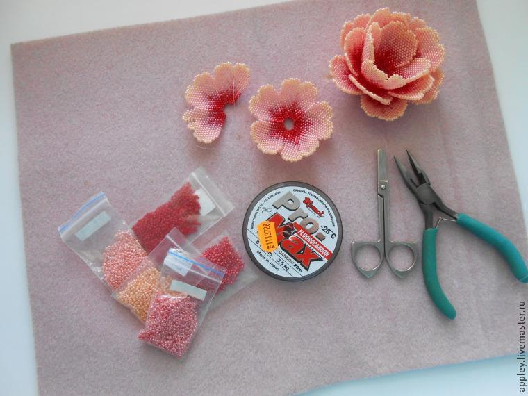 Как сделать цветочки маленькие
