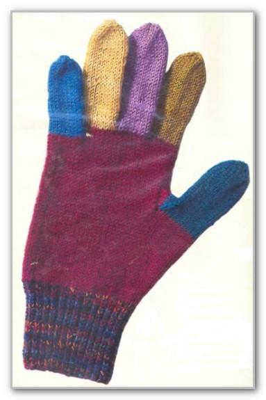 основы вязания перчаток любых размеров на четырех спицах таблица